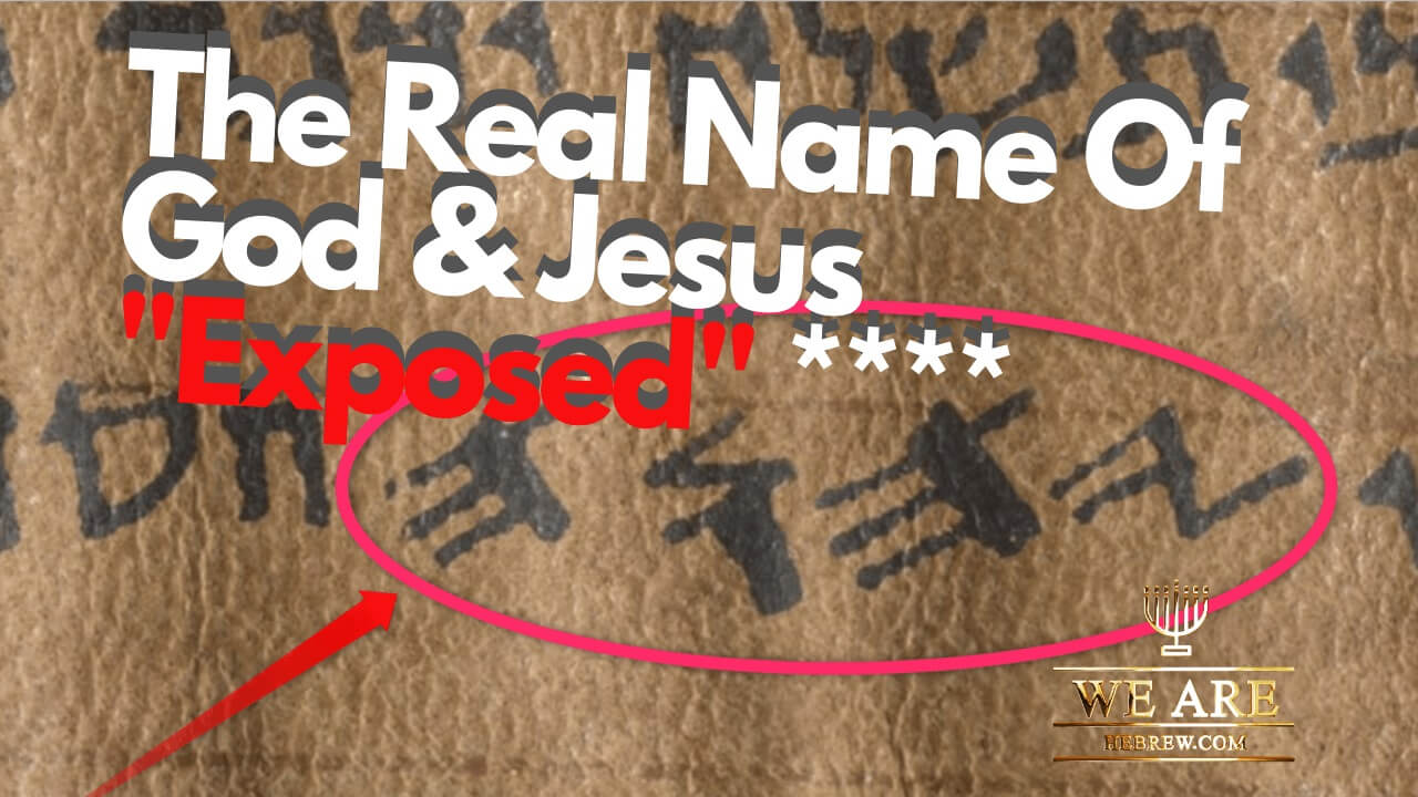 The Name Of God & The Real Name Of Jesus Exposed! – Bible Facts & Bible  Notes